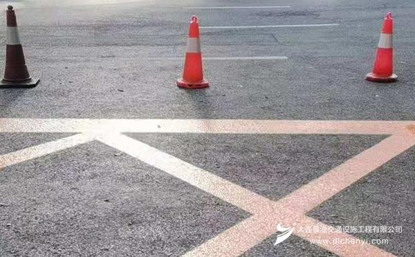大连道路划线施工